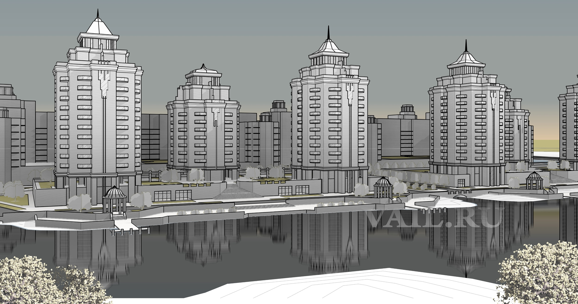 Многоквартирный жилой комплекс в Калининграде
