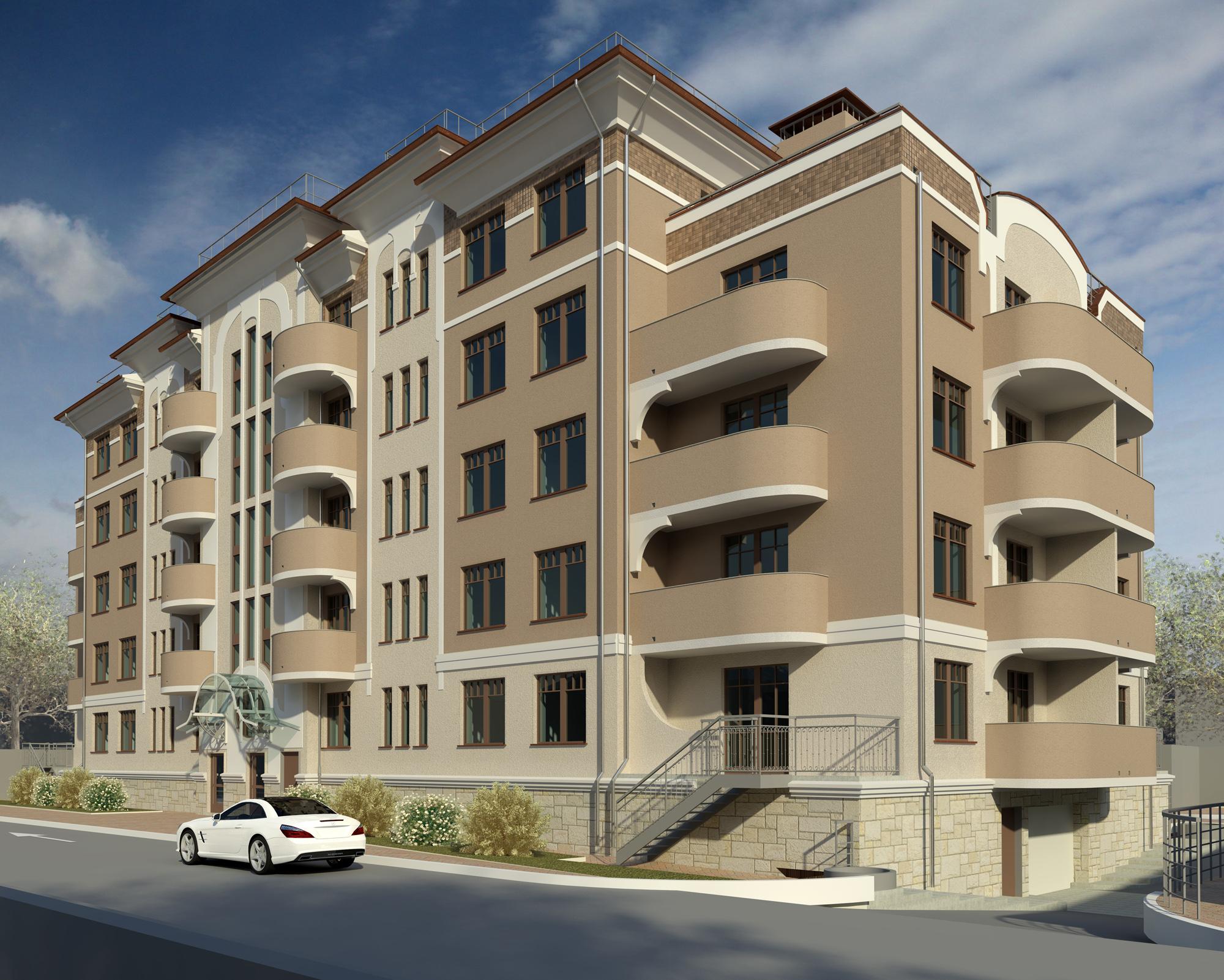 Проект многоквартирного дома на ул. Яблоневая Аллея