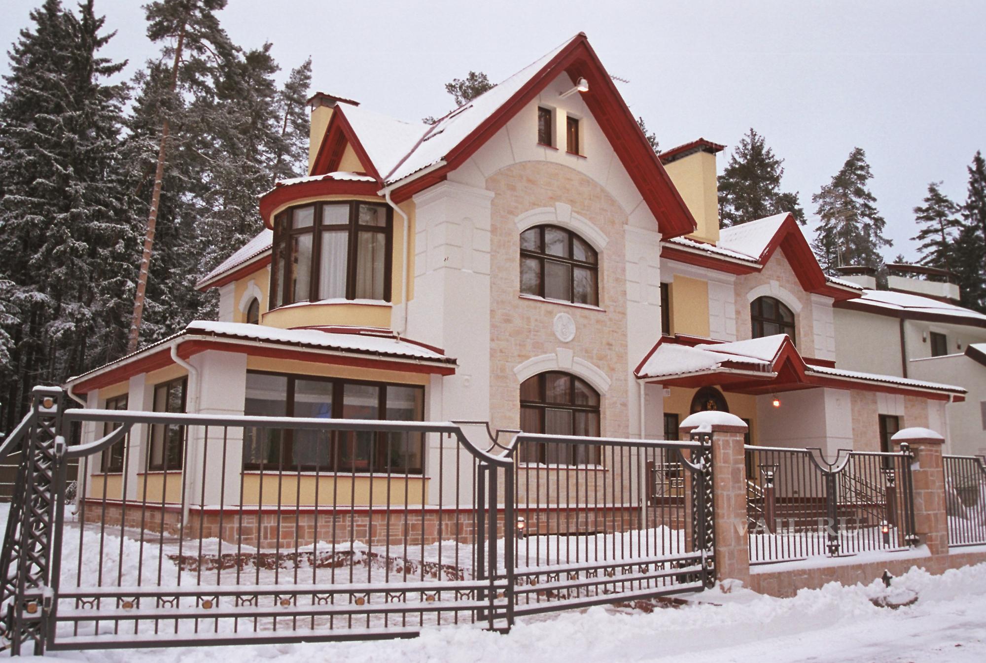 Проект дома в Переделкино. 2001 год.
