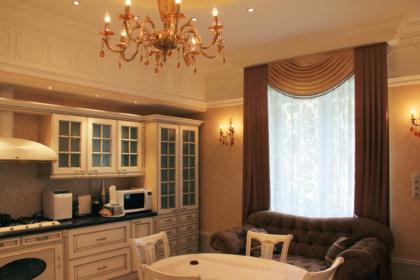 Дизайн дома на Волоколамке в классическом стиле