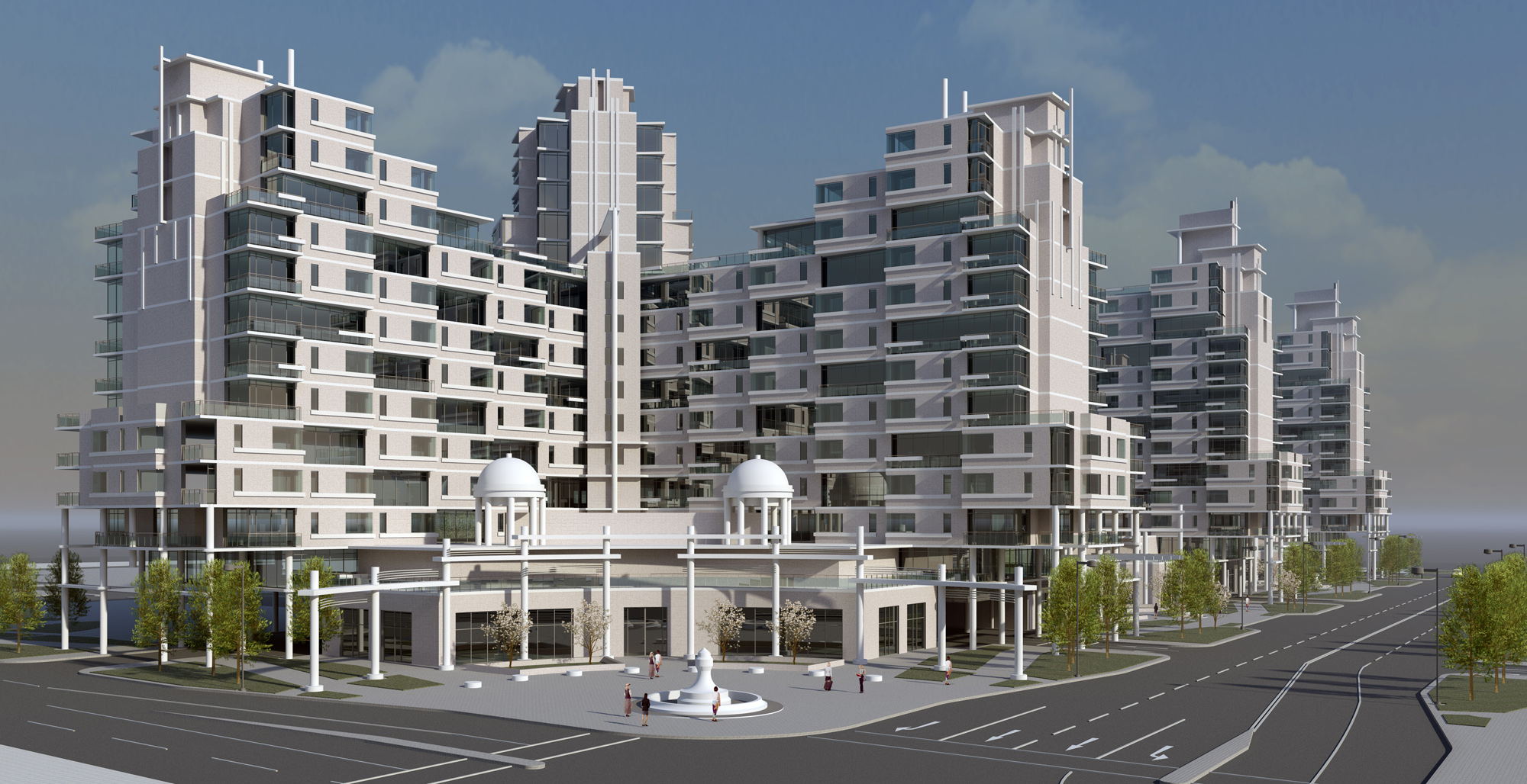 Проект многоквартирного жилого комплекса в North York