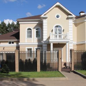 Проект дома в Аникеевке. 2009 год