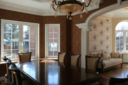 Дизайн интерьера дома в Полиновке