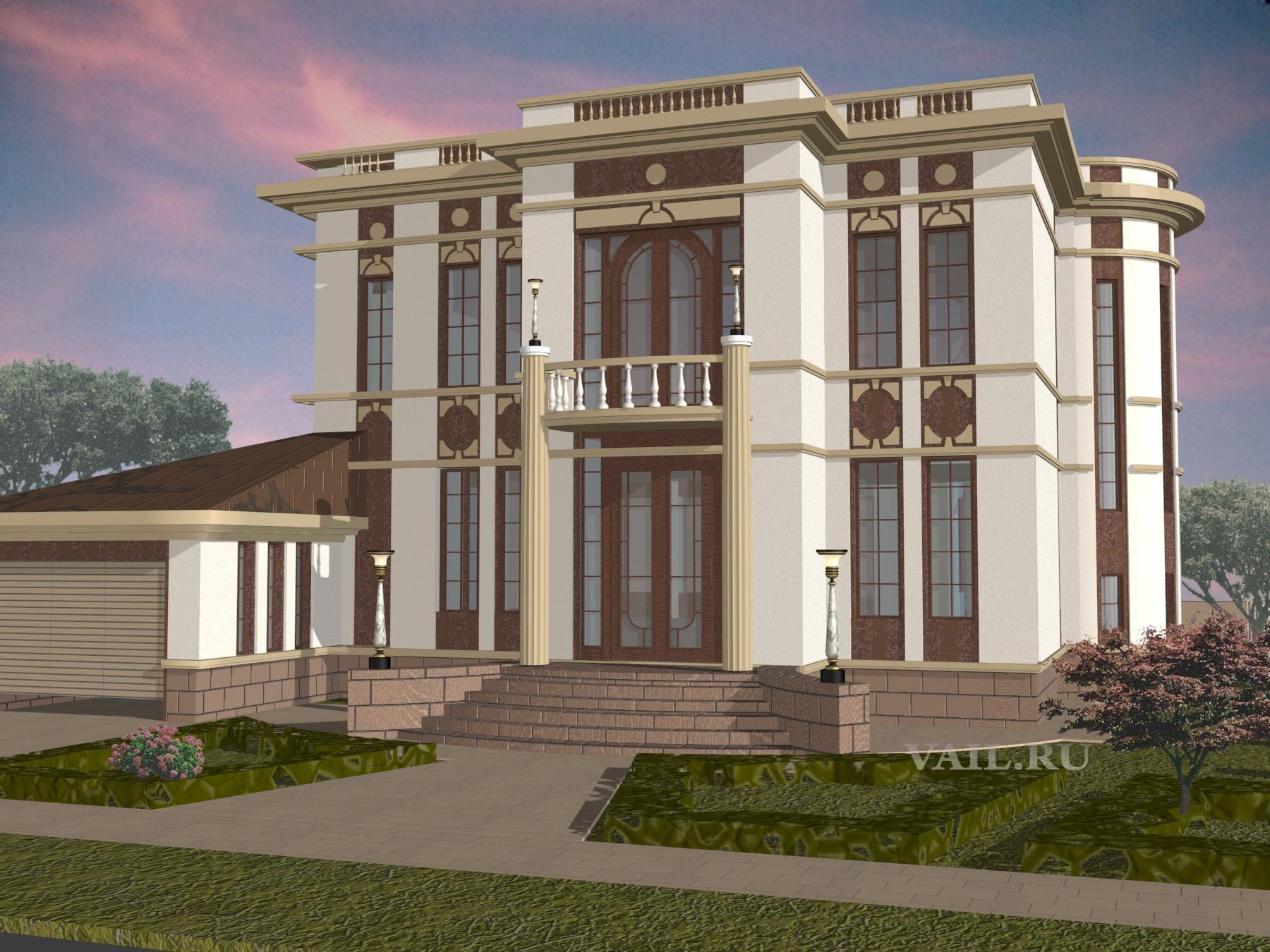 Проект дома в Жуковке