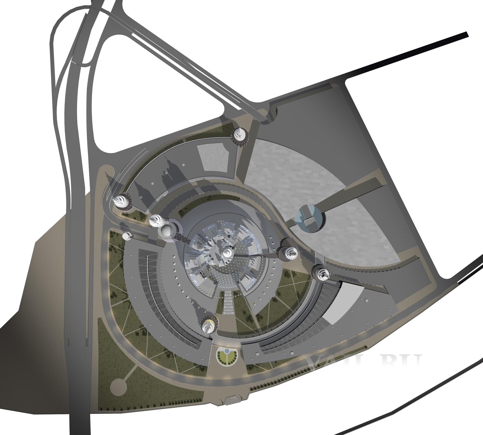 Проект генплана Делового центра для МО. 2010 г.