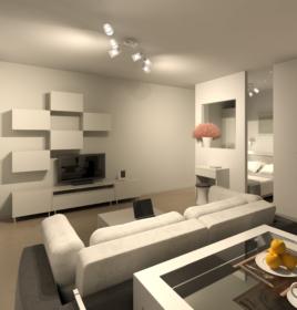 Дизайн квартиры в Филиграде, 2016