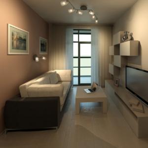 Дизайн квартиры 2 в Филиграде, 2016