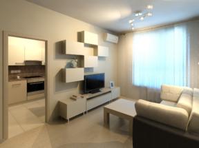 Гостиная малогабаритной квартире 2