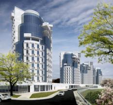 Проект многоквартирного жилого комплекса на Гвардейском проспекте в Калининграде
