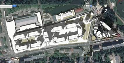Генплан центрального рынка в Калининграде