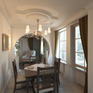 Дизайн интерьера частного дома в Калининграде