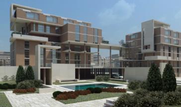 Проект жилого микрорайона в Новоситино