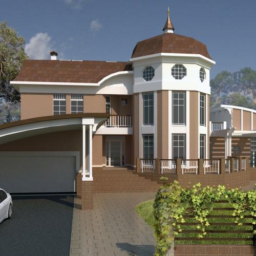 Проект дома в поселке Шервуд