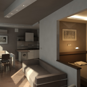 Дизайн квартиры в Ласкино