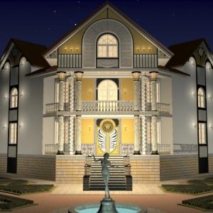 Проект дома в стиле Versace