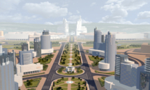 Архитектурная планировка центрального бульвара в Новоситино. 2010 г.