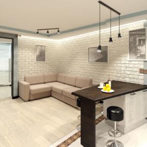 Дизайн квартиры в Красногорске, 2017