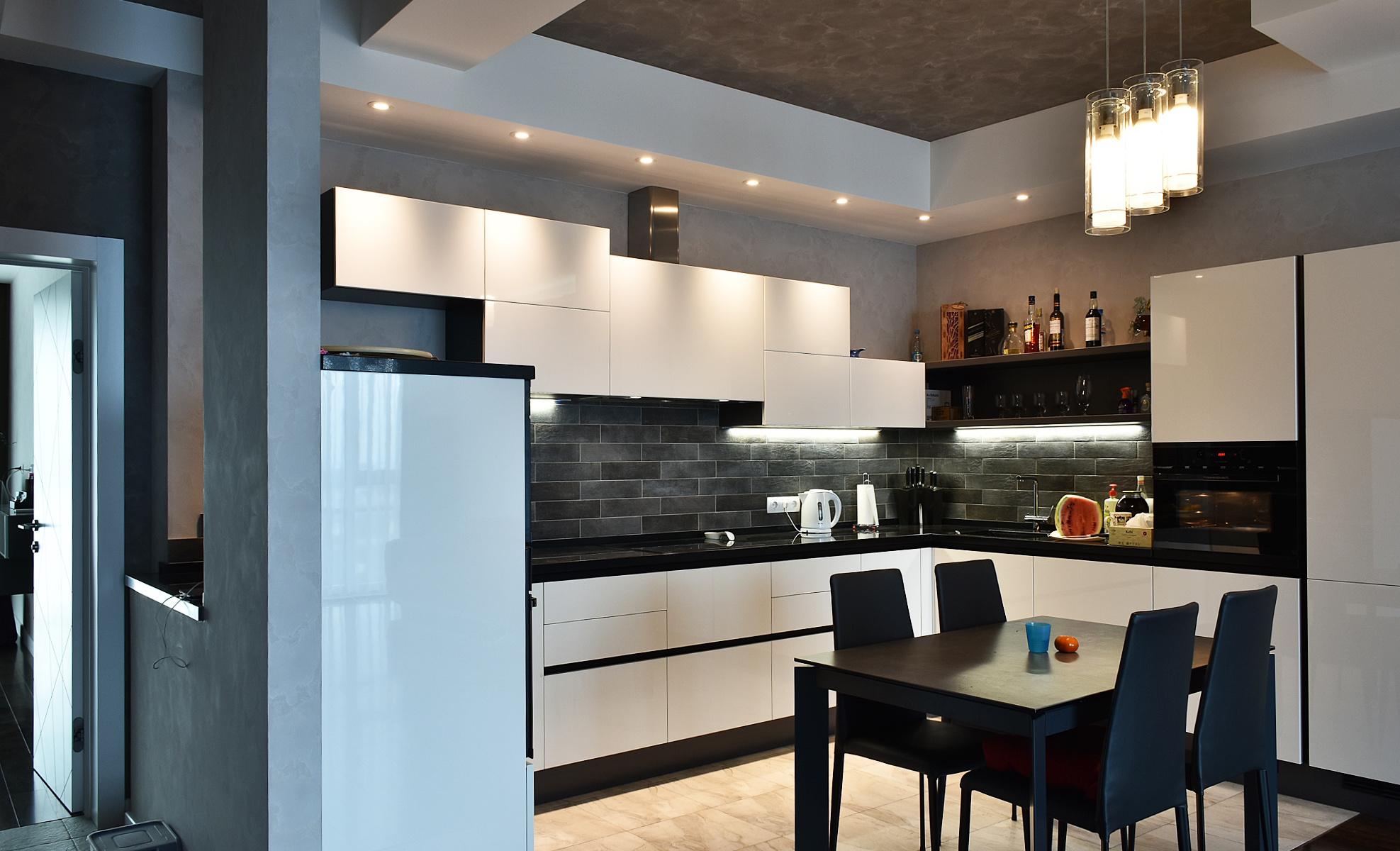 Кухня Scavolini, проект  2017 года