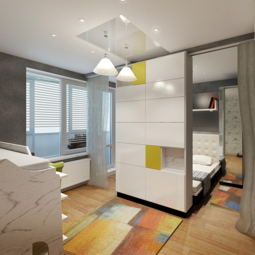 Дизайн квартиры в Красногорске