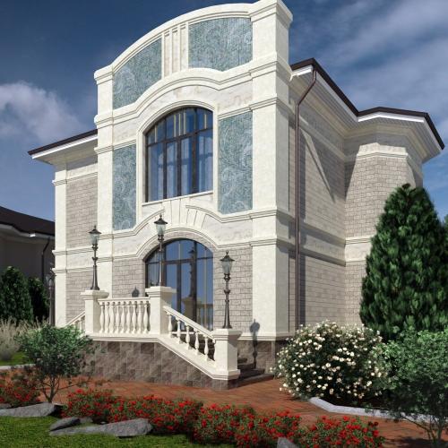 Проект дома на Пироговке