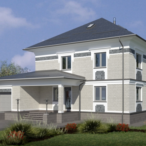 Проект дома в Юсупово