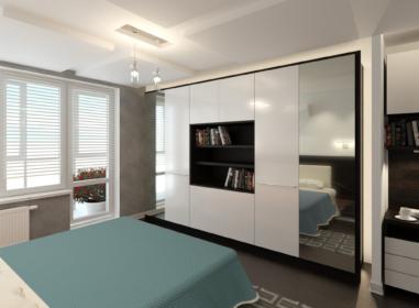 Спальня, большой шкаф
