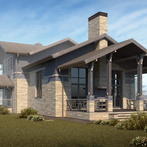 Проект дома на Истре.