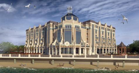 Проект отеля в Зеленоградске 1