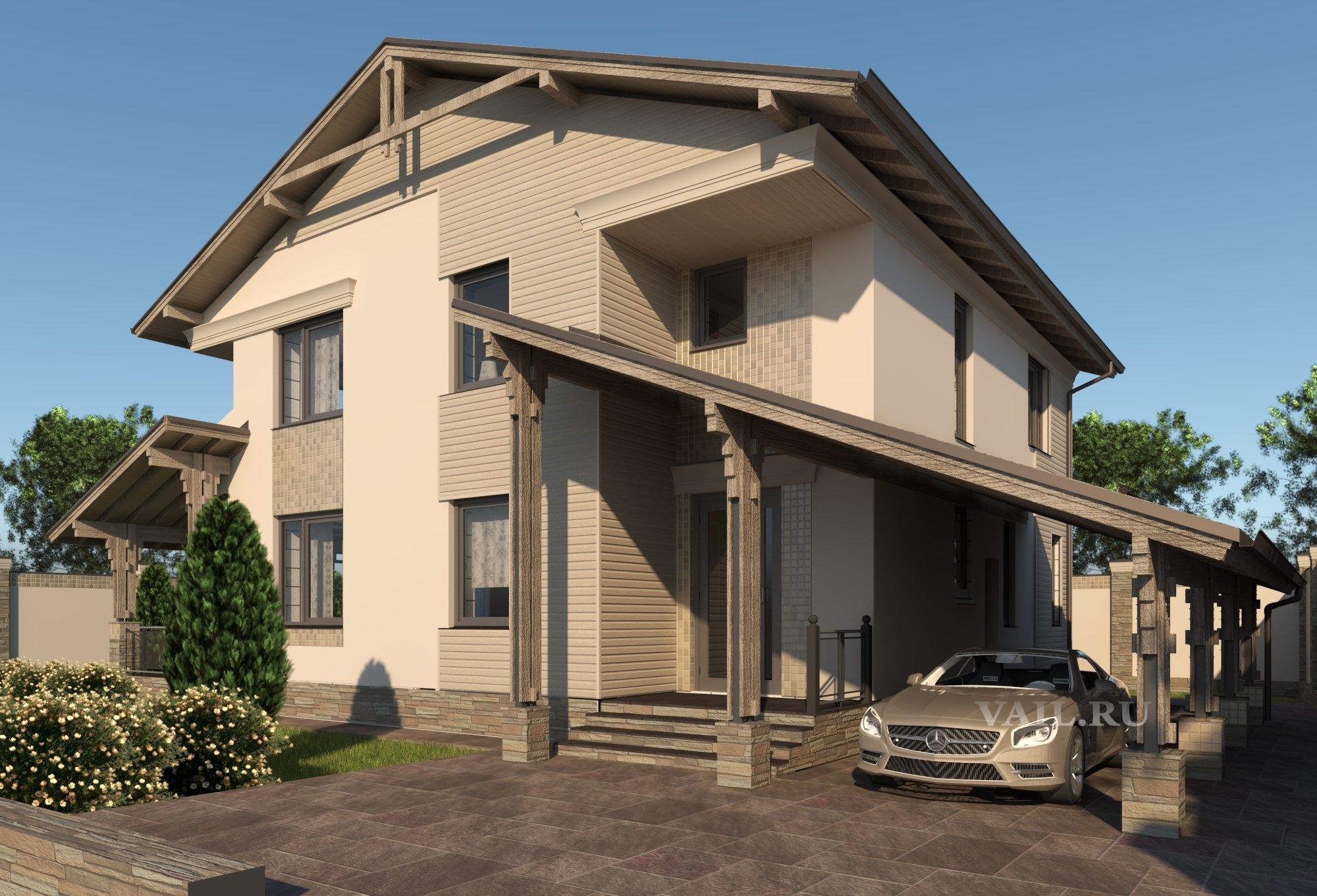 Проект дома в Троицком