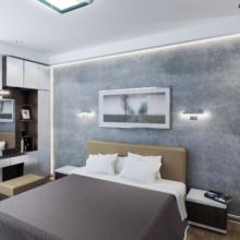 Спальня в минимализме