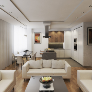 Дизайн квартиры в Измайлово. 2018 год.