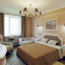 Спальня для дома в классике