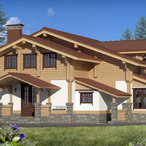 Проект дома в районе Солнечногорска