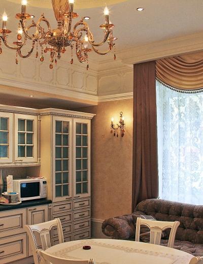 Дизайн дома в Аникеевке в классическом стиле