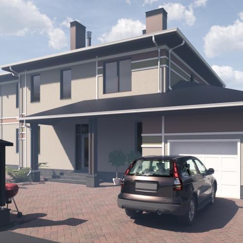 Проект дома в пос. Мосрентген