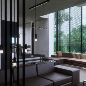 Интерьер дома в Горкино. 2020 год