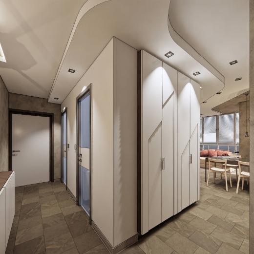 Дизайн квартиры в ЖК Татьянин Парк. 2020 год.
